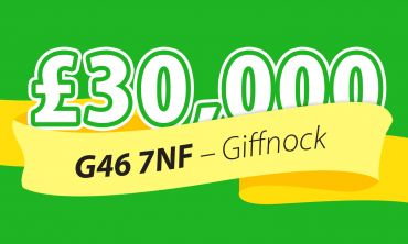 Players in Giffnock have won £30,000 per ticket - with one player scooping a massive £90,000