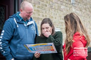 Michelle was shocked to receive a cheque for a whopping £60,000