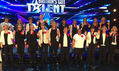 The Missing People Choir, competing in Britain's Got Talent 2017