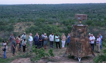The 'Postcode Meerkat' wide-area surveillance technology in development in Kruger National Park