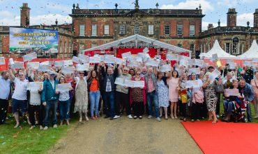 Over 300 lucky winners in Bolton upon Dearne celebrated sharing a £3 Million prize pot