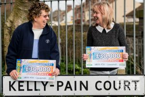 Our lucky winners live in Kelly-Pain Court on St Margaret's Road