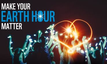 Earth Hour 2017 - Sign up, switch off your lights and show you want action on climate change.