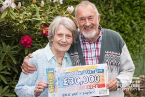 Anthony and his wife Jennifer are planning some home improvements with their winnings