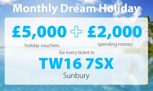 One lucky Sunbury winner is in for a treat after scooping this month's Dream Holiday prize