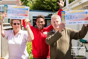 06. Vivien and Roger each received a £30,000 cheque