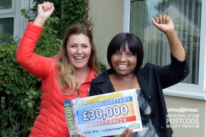 Barbrah was surprised to receive her £30,000 cheque