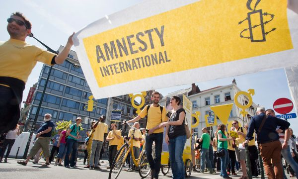 Amnesty International works to create a world in which nobody is denied their human rights