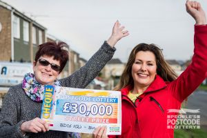 Beverley is planning to take a holiday with her winnings
