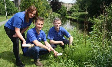 Canal & River Trust make nature available to people who live in urban areas