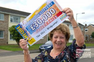 Sue is planning to retire and will take her colleagues out for a meal with her winnings