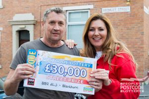 Sean was surprised to have won £30,000