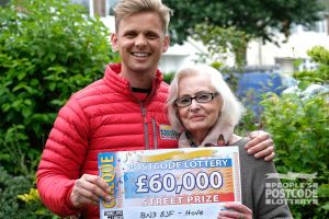 Jeff, Patricia and a life-changing £60,000 cheque