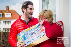 Matt gave £30,000 winner Annmarie quite a surprise