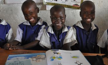 Book Aid International are inspiring pupils across Africa through reading