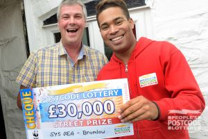 Paul was overjoyed to win a whopping £30,000