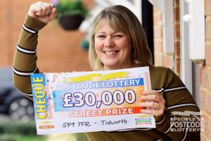 Lucky Lucy is going to use her winnings on home repairs, and a family holiday