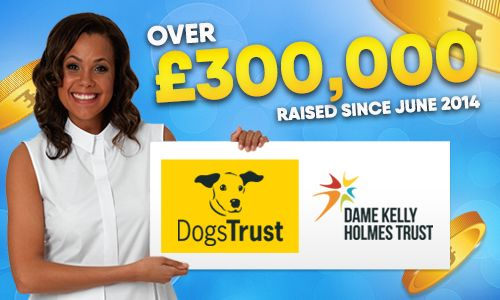 Over £300,000 raised since June 2014