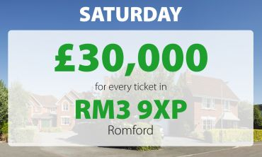 Three happy Romford players had big wins in this weekend's Saturday Street Prize