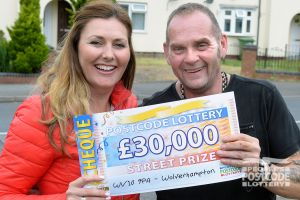 Andrew has been playing since the launch of the lottery and is over the moon to have won