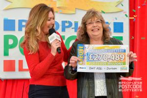 Jean has only been playing for a year and didn't think she'd ever be a big winner