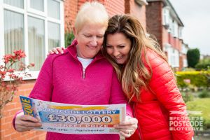 Christine was shocked when she received her £30,000 cheque from Judie