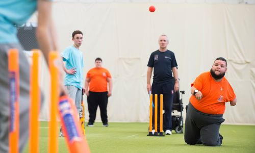The Lord's Taverners enhance the physical and mental wellbeing of disabled young people