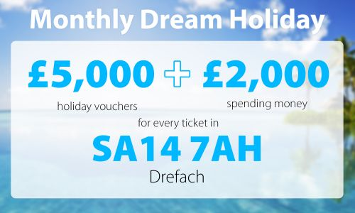 Four lucky Drefach players will be heading off on their own Dream Holidays