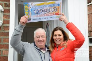 Peter is planning to retire soon, so was overwhelmed to win £30,000