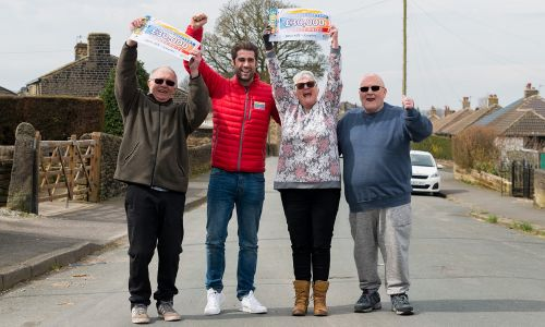Five lucky players in Keighley have won an incredible £30,000 each