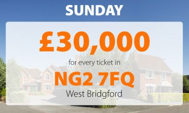 Two lucky West Bridgford players have each won £30,000