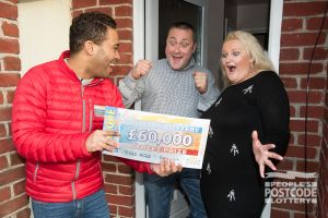Steve discovers he has won £60,000