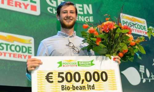 Arthur Kay, founder of bio-bean, was a winner of the challenge in 2014