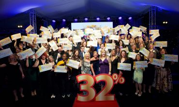 Representatives from supported charities celebrated with People's Postcode Lottery at this year's Charity Gala