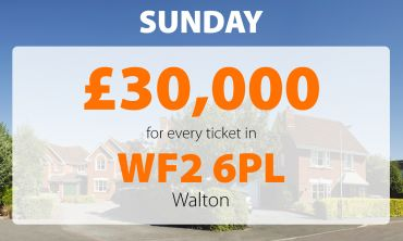 A winning postcode in Walton has earned five People's Postcode Lottery players a whopping £30,000 each