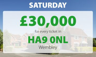One lucky player with two tickets scooped an amazing £60,000 in Saturday's Street Prize