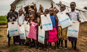 Children around the world are able to access education thanks to Unicef UK (photo credit Vincent Tremeau)