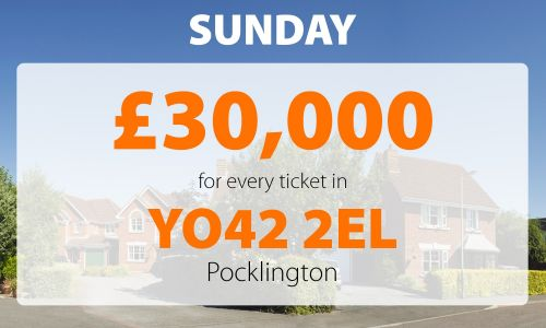 Lucky Pocklington players have won big in Sunday's Street Prize