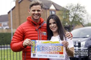 Winner Emma is going to treat her son to a birthday he'll never forget with her winnings
