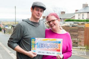 Suzanne and William are going to get a new kitchen with their winnings