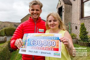 Janice was thrilled with her £30,000 win