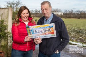 Michael couldn't believe his luck when Judie revealed the cheque