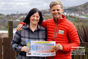 Letitia was not expecting to win as much as £30,000