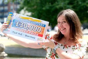 Helen was completely thrilled to win an amazing £30,000