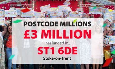 Over 600 lucky Stoke-on-Trent players have won a share of £3 Million