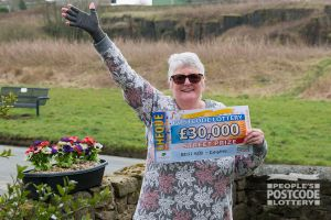 Sara was absolutely delighted to win £30,000