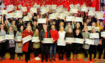 Lucky Lancaster neighbours shared a massive £3 Million prize pot in November's Postcode Millions