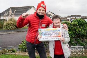 Rita is planning to renovate her home thanks to her winnings