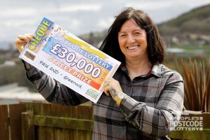 Letitia is already making big plans for her winnings, including a new car
