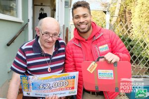 Peter's won £5,000 of holiday vouchers and £2,000 spending money